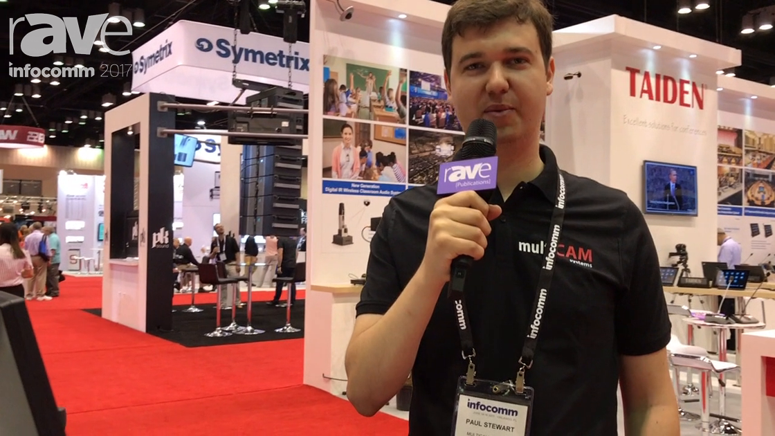 InfoComm 2017: MultiCAM Systems Exhibits its Automated Conference Capturing System