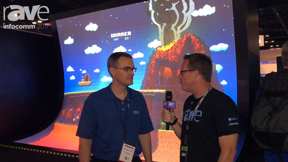 InfoComm 2017: Gary Kayye Speaks to Richard Miller of Epson About InfoComm Launches and 3D Mapping