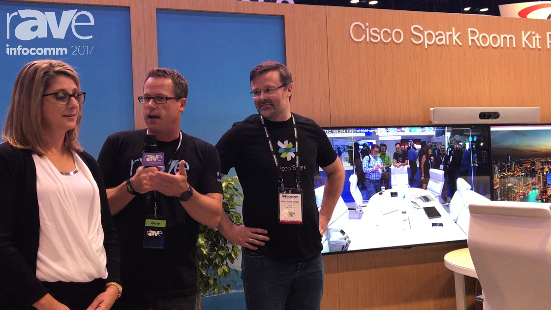 InfoComm 2017: Angie Mistretta of Cisco Gives Gary Kayye an Exclusive Booth Tour
