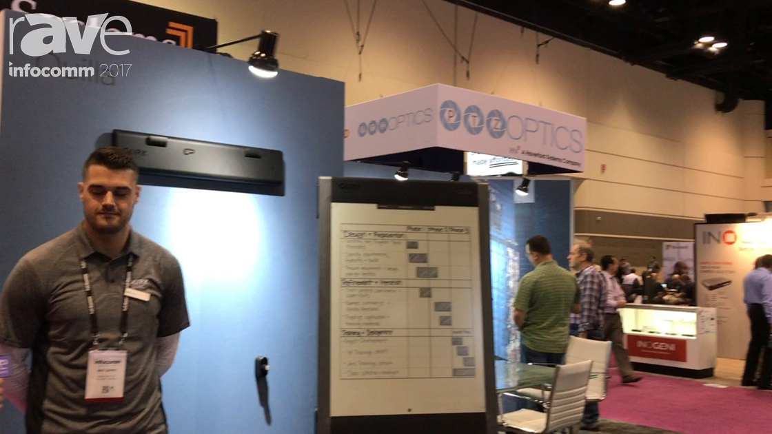InfoComm 2017: QuirkLogic Shows Off the Mobility of the Quilla Connected e-Writer