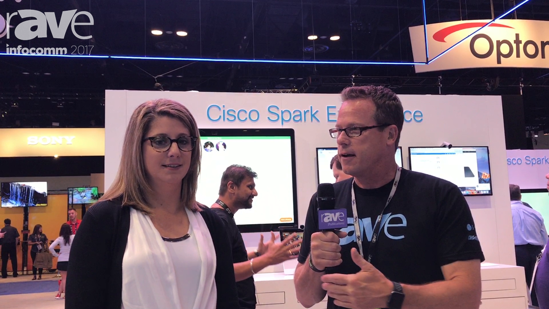 InfoComm 2017: Gary Kayye Talks to Angie Mistratta of Cisco About the Spark Board and Platform