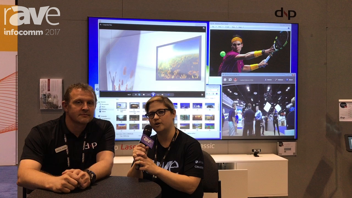 InfoComm 2017: Sara Abrons Interviews Jonny Jensen of dnp About Going Beyond Projection Screens
