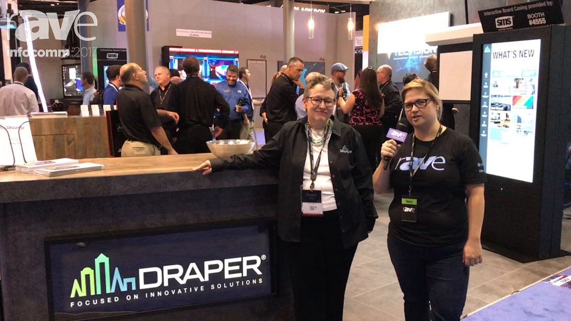 InfoComm 2017: Sara Abrons Talks to Penny Sitler of Draper About Draper's Brand Updates