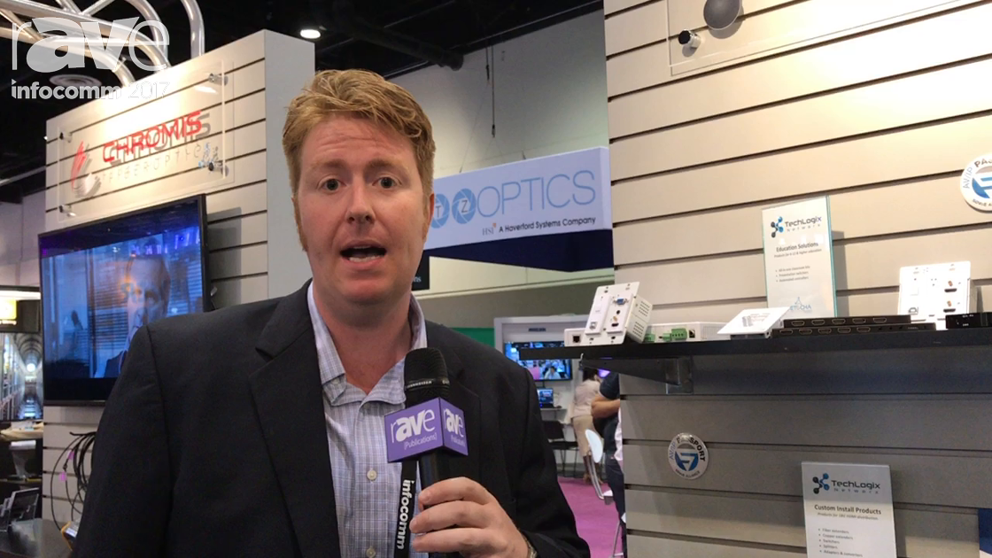 InfoComm 2017: TechLogix Network Gives rAVe a Booth Tour
