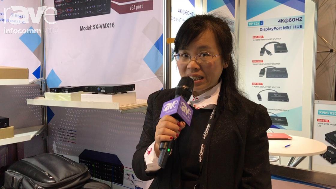 InfoComm 2017: FoxUn Shows HDMI Matrix SX-WX11