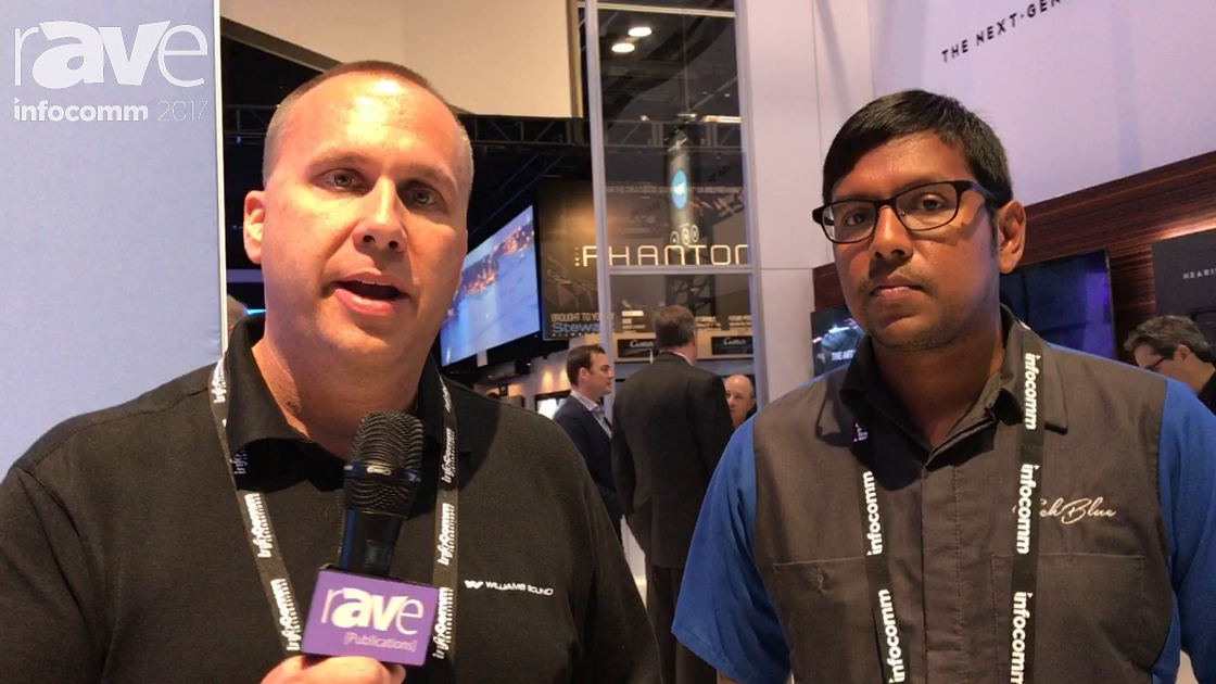 InfoComm 2017: Williams Sound Explains TechBlue Team for Design Services and Technical Expertise