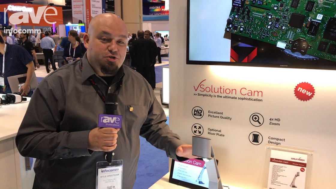 InfoComm 2017: WolfVision Presents vSolution Cam