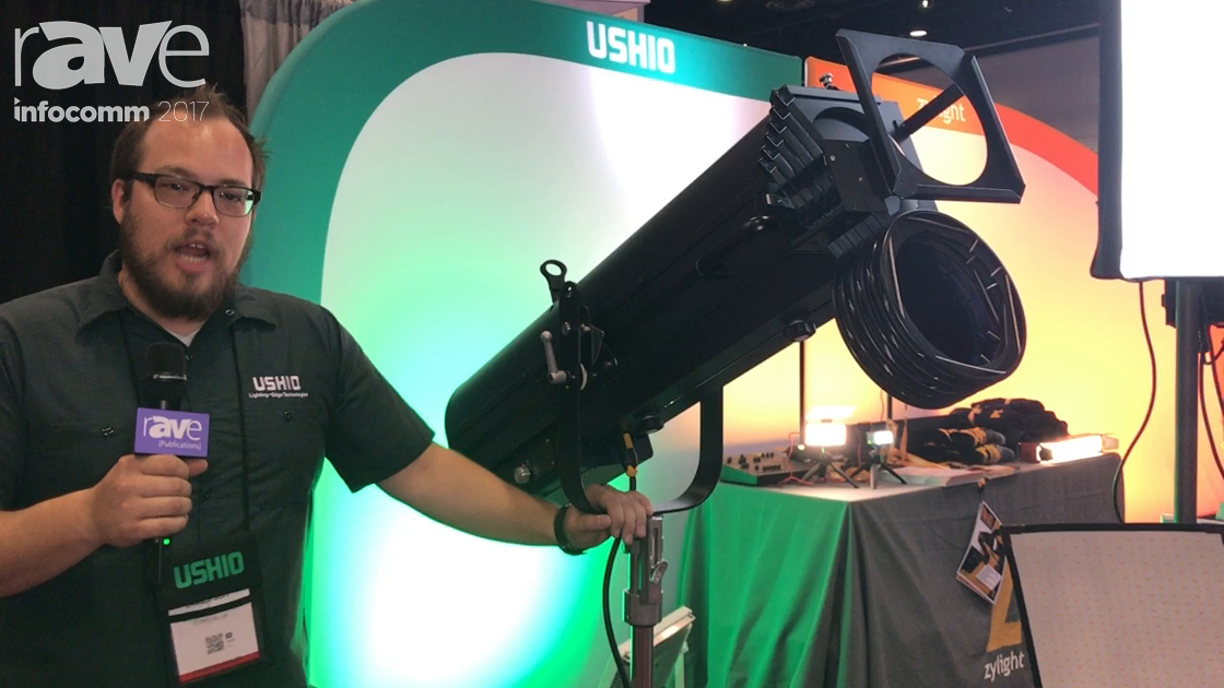 InfoComm 2017: Zylight Showcases Ushio Sai-300 LED Follow-Spot Fixture