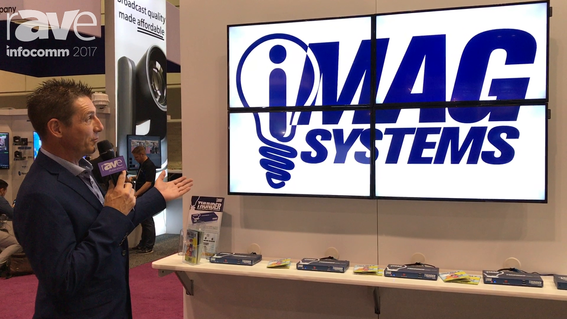 InfoComm 2017: iMAG Systems Exhibits Thunder AV-Over-IP Solution