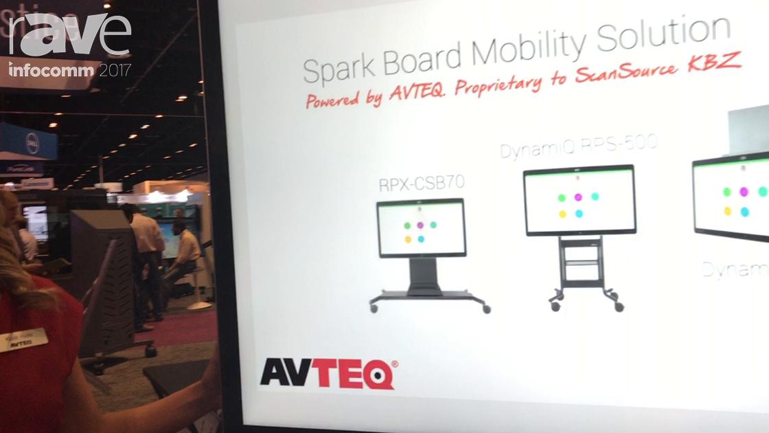 InfoComm 2017: AVTEQ Presents DynamiQ RPS-500 for the Cisco Spark Board