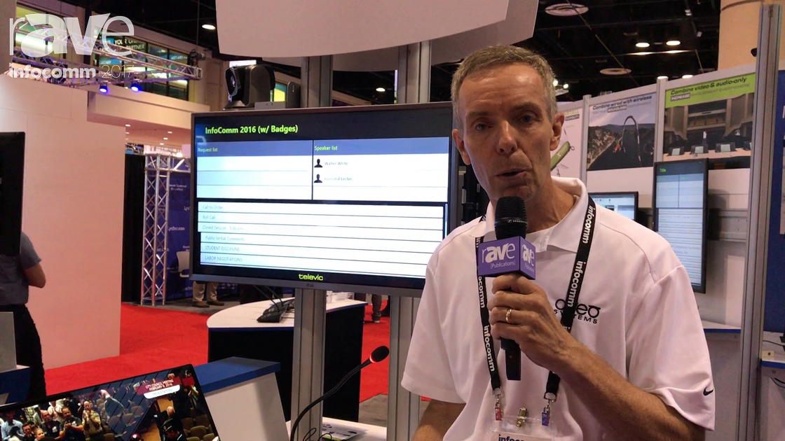 InfoComm 2017: Aveo Systems Demos Televic Conference Video Break In/Break Out Boxes