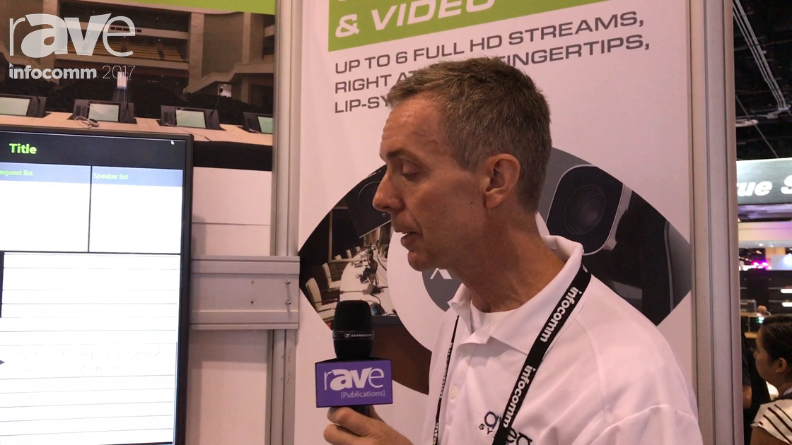 InfoComm 2017: Aveo Systems Presents Televic Conference Wireless Confidea System