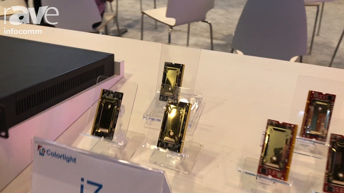 InfoComm 2017: Colorlight Talks About Their i6 and i7 Reciever Cards