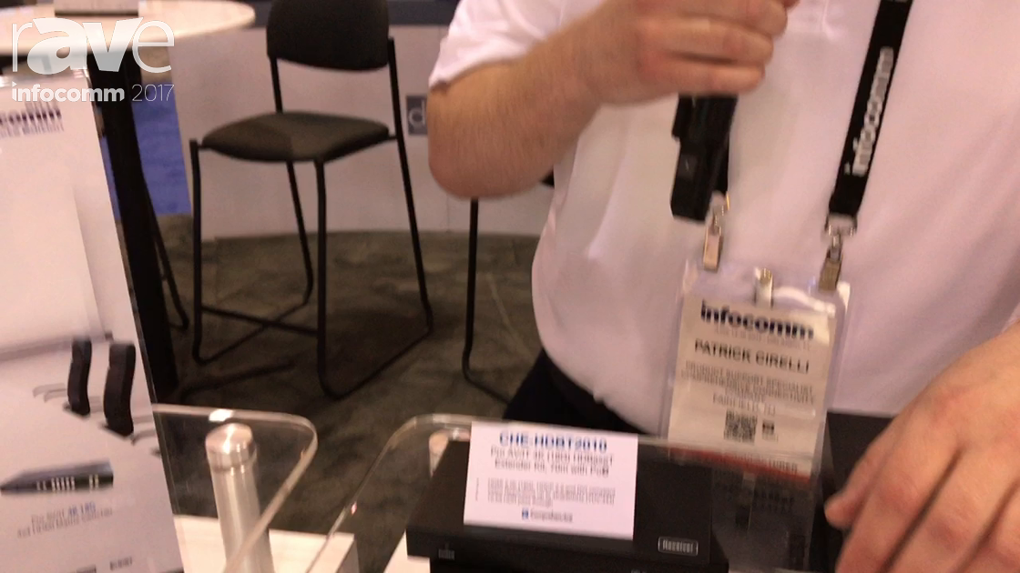 InfoComm 2017: Comprehensive Shows Off Its HD18G-xxPROPAF HDMI Cables