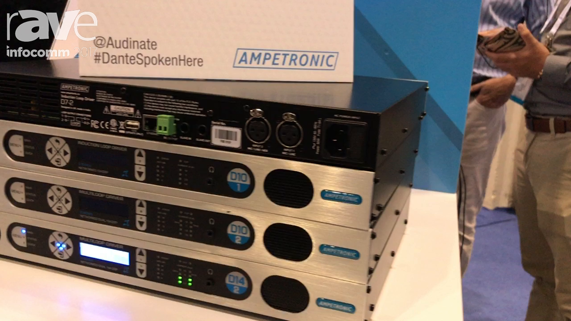 InfoComm 2017: Ampetronic Features Class D Amplifiers