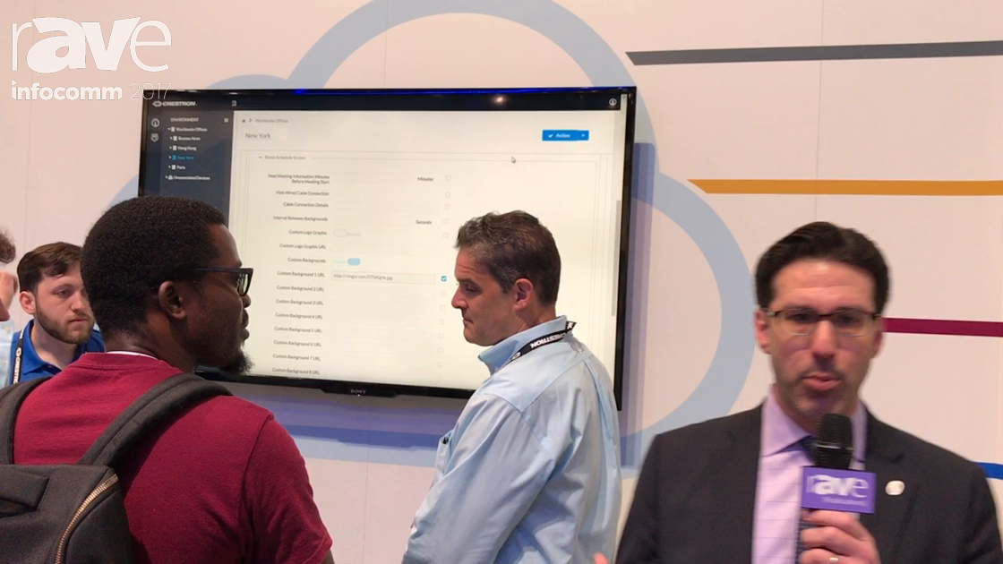 InfoComm 2017: Crestron Electronics Demos Cloud Provisioning and Management Software