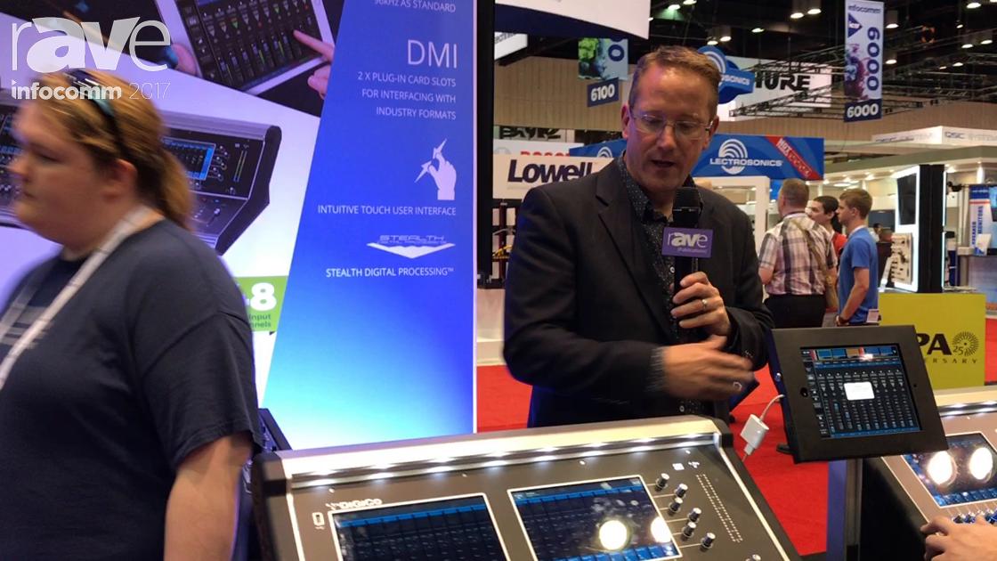 InfoComm 2017: DiGiCo Explains the S Series Mixer Consoles