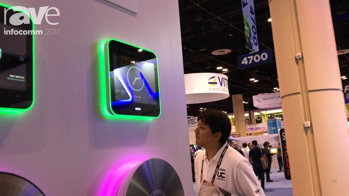 InfoComm 2017: Evoko Talks About Liso Room Manager