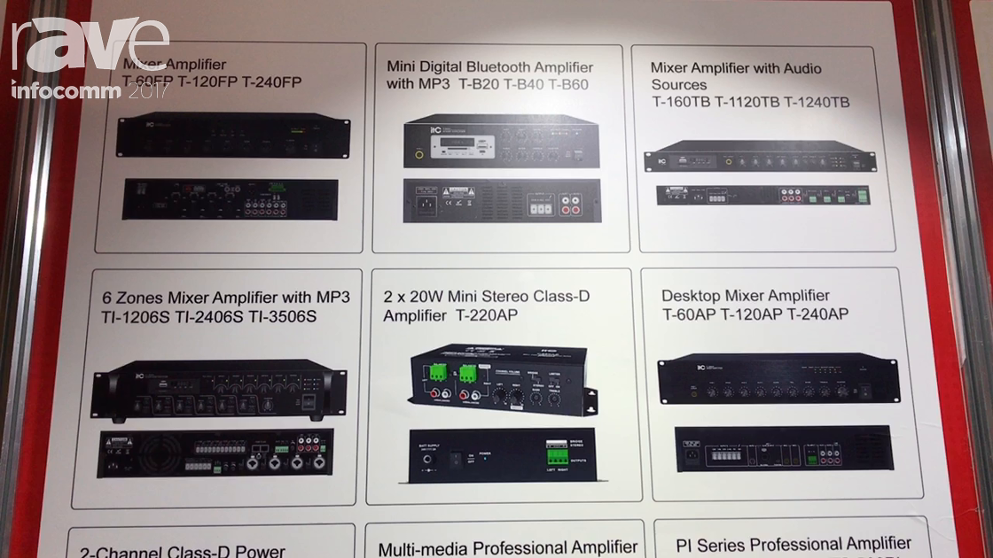 InfoComm 2017: ITC Showcases Its Mixer Amplifiers