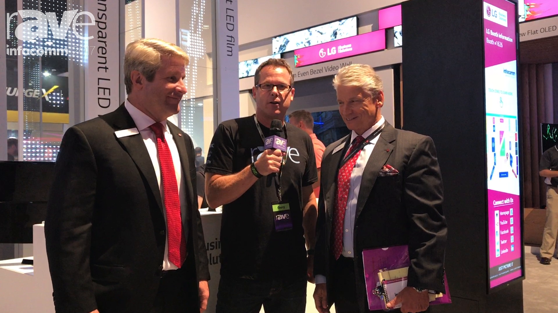 InfoComm 2017: Clark Brown and Dan Smith of LG Give Gary Kayye an Exclusive Booth Tour