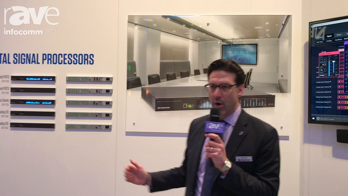 InfoComm 2017: Crestron Electronics Shows Off Avia DSPs and Audio Tools