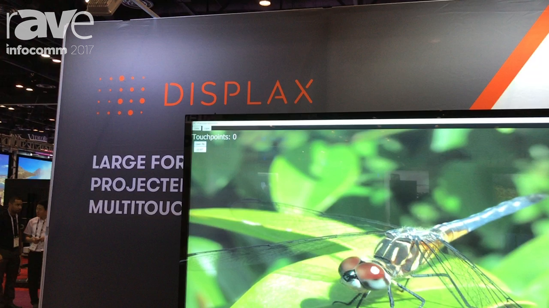 InfoComm 2017: DISPLAX Multitouch Technologies Features 100-Point Ultra Series