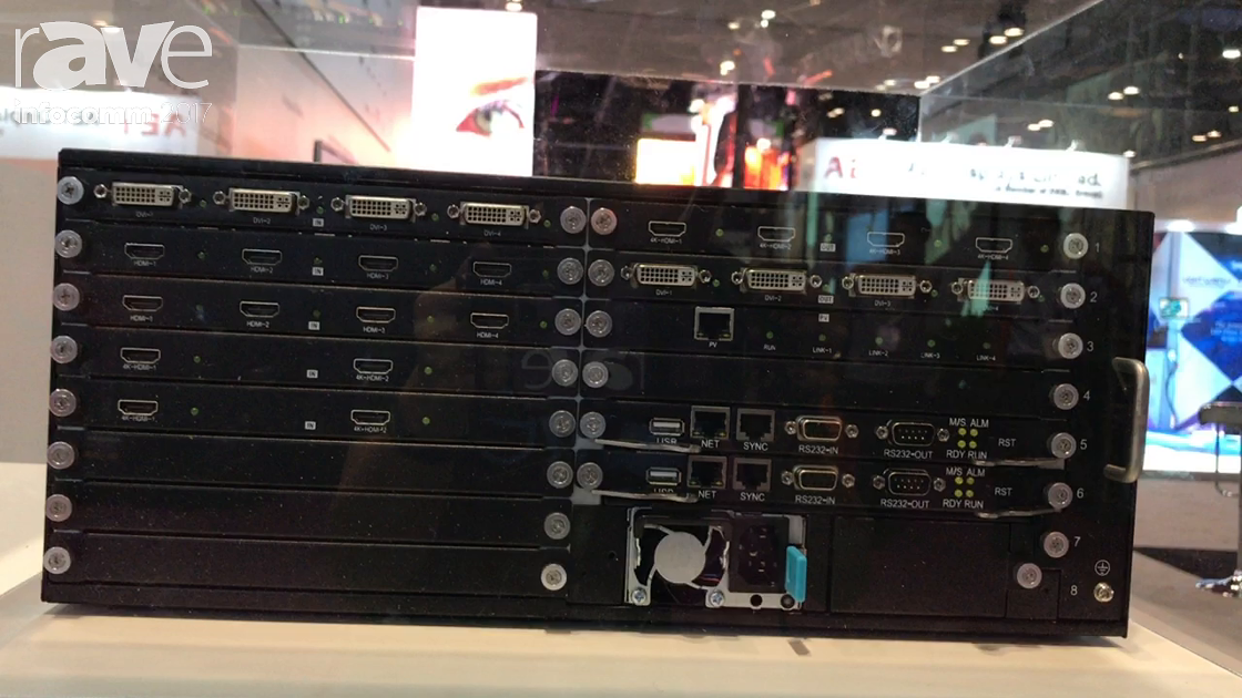 InfoComm 2017: DigiBird Presents DB-VWC2 Modular 4K Video Wall Processor