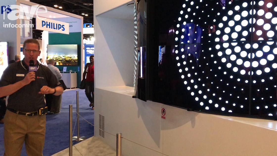 InfoComm 2017: LG Demos OLED Twister Digital Signage Solution