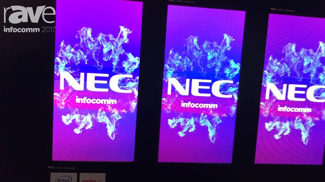 InfoComm 2017: NEC Display Presents Pixel-Pitch LED Displays