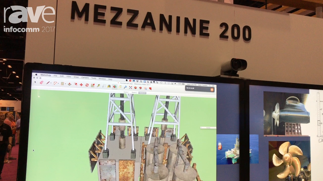 InfoComm 2017: Oblong Demos Mezzanine 200 Touch Annotation Feature