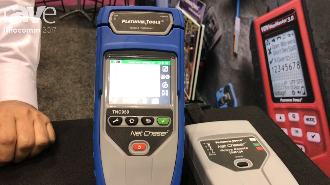 InfoComm 2017: Platinum Tools Features Ethernet Speed Certifier