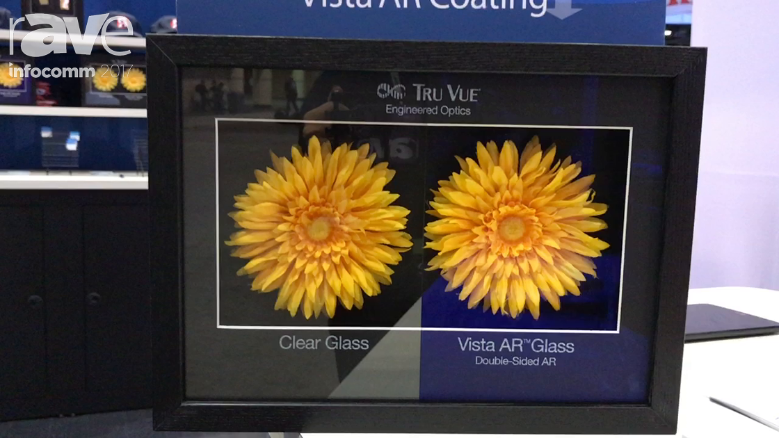 InfoComm 2017: Tru Vue Demonstrates AR Reflection-Free Glass