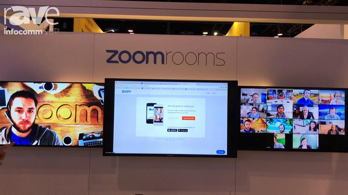 InfoComm 2017: Zoom Presents Zoom Rooms