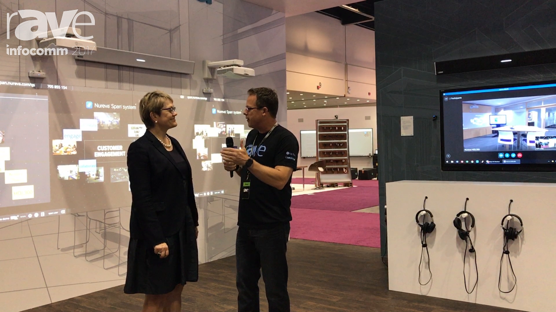 InfoComm 2017: Nureva CEO Nancy Knowlton Speaks to Gary Kayye About the Future of Collaboration