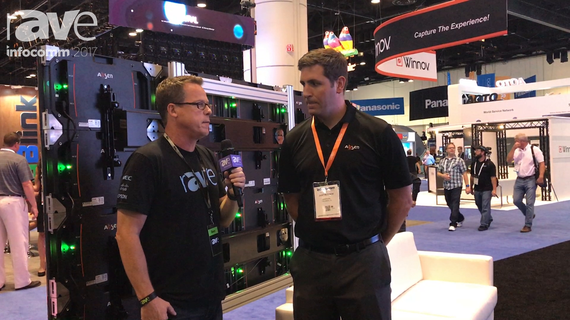 InfoComm 2017: Justin Mack of Absen Gives Gary Kayye a Comprehensive Booth Tour