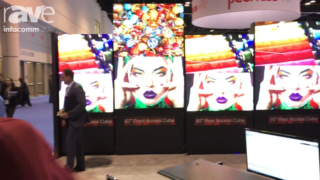 InfoComm 2017: Mitsubishi Electric Talk About Their Line of Control Room LEDs