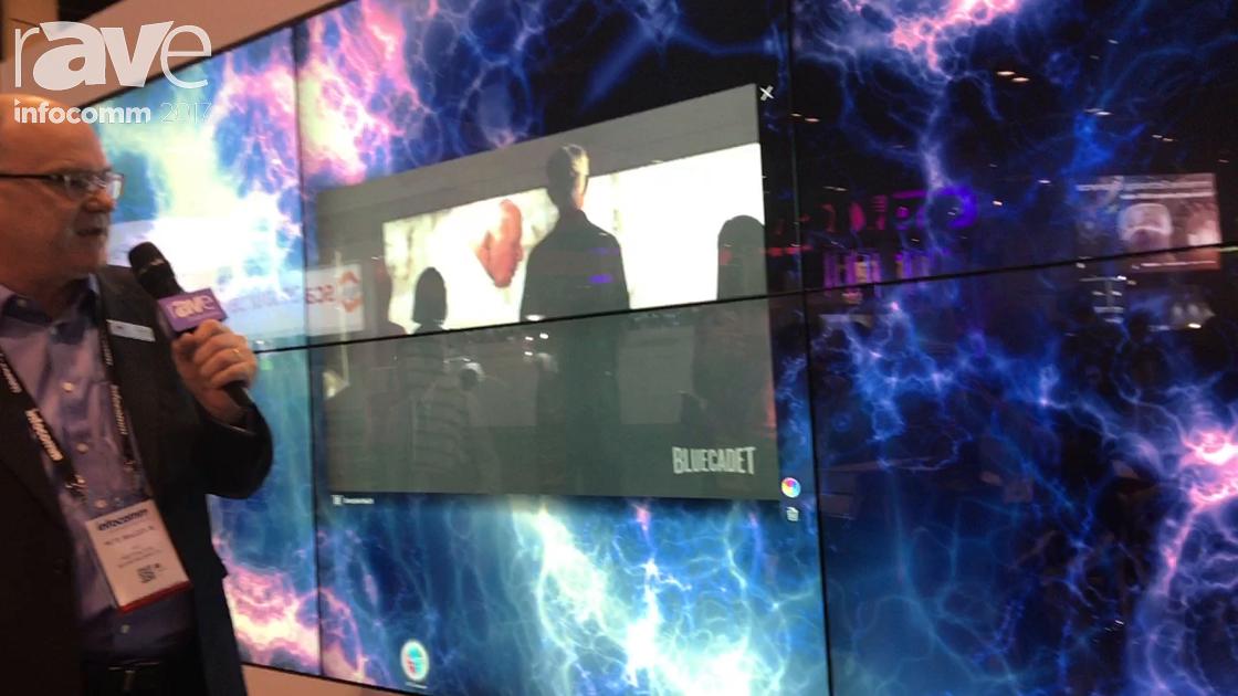 InfoComm 2017: MultiTaction Unveils MT Showcase