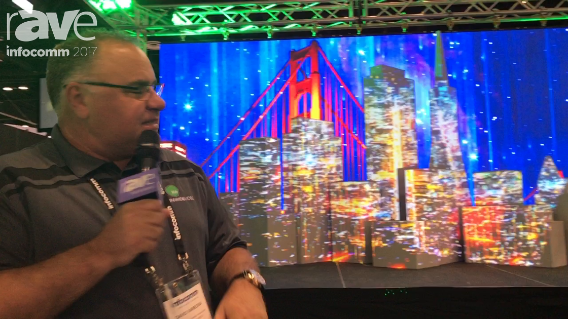 InfoComm 2017: Nationwide Video Shows Off Video Mapping with Pandoras Box and Absen A2 Pro