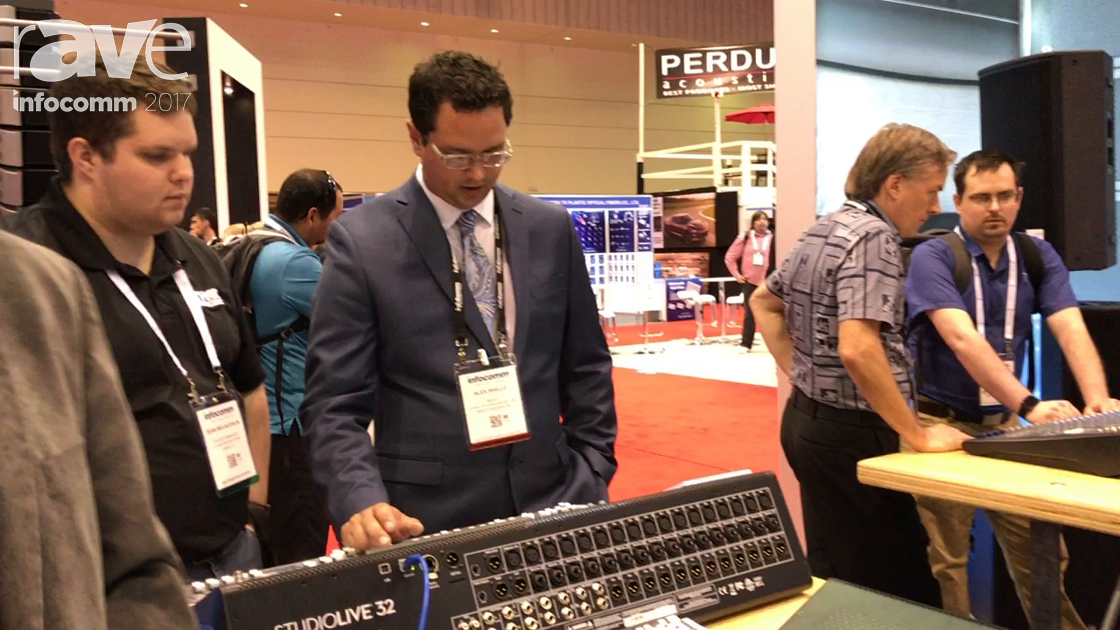 InfoComm 2017: PreSonus Adds the Series 3 Studio Live Mixers