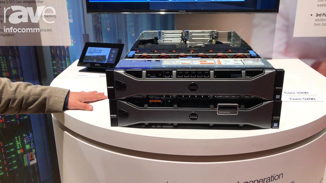 InfoComm 2017: QSC Introduces Dell Enterprise Core