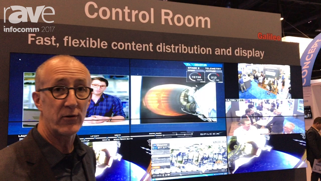 InfoComm 2017: RGB Spectrum Demonstrates Its Galileo Display Wall Processor for Control Rooms