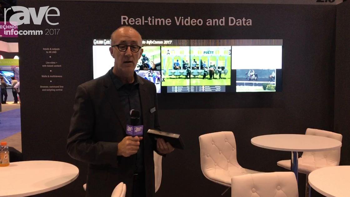 InfoComm 2017: RGB Spectrum Shows How Its Zio Encoders Combine Live Video and Graphics