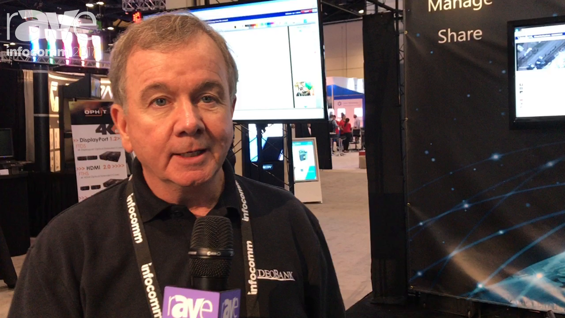 InfoComm 2017: VideoBank Shows Off Its Integrated Video Capture Management and Storage Solution