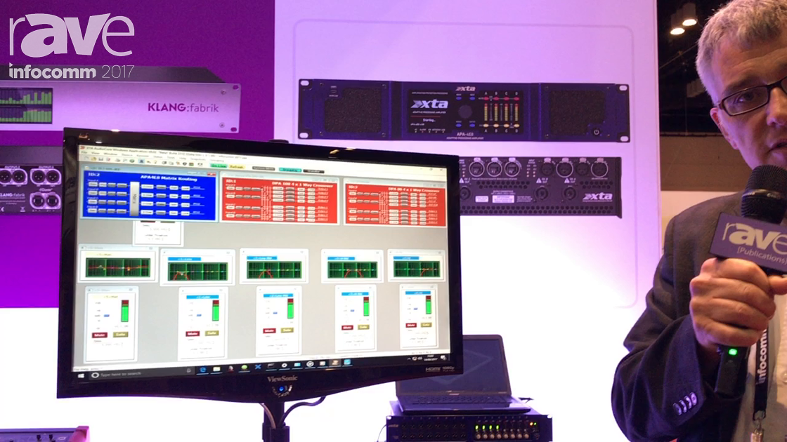 InfoComm 2017: XTA Talks About the DPA and DNA Power Amplifiers