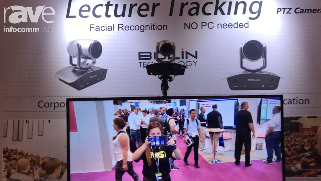 InfoComm 2017: Bolin Technology Introduces Lecturer Tracking PTZ Camera