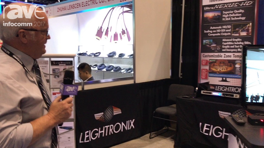 InfoComm 2017: LEIGHTRONIX Showcases UltraNEXUS-HD Automated Video Server