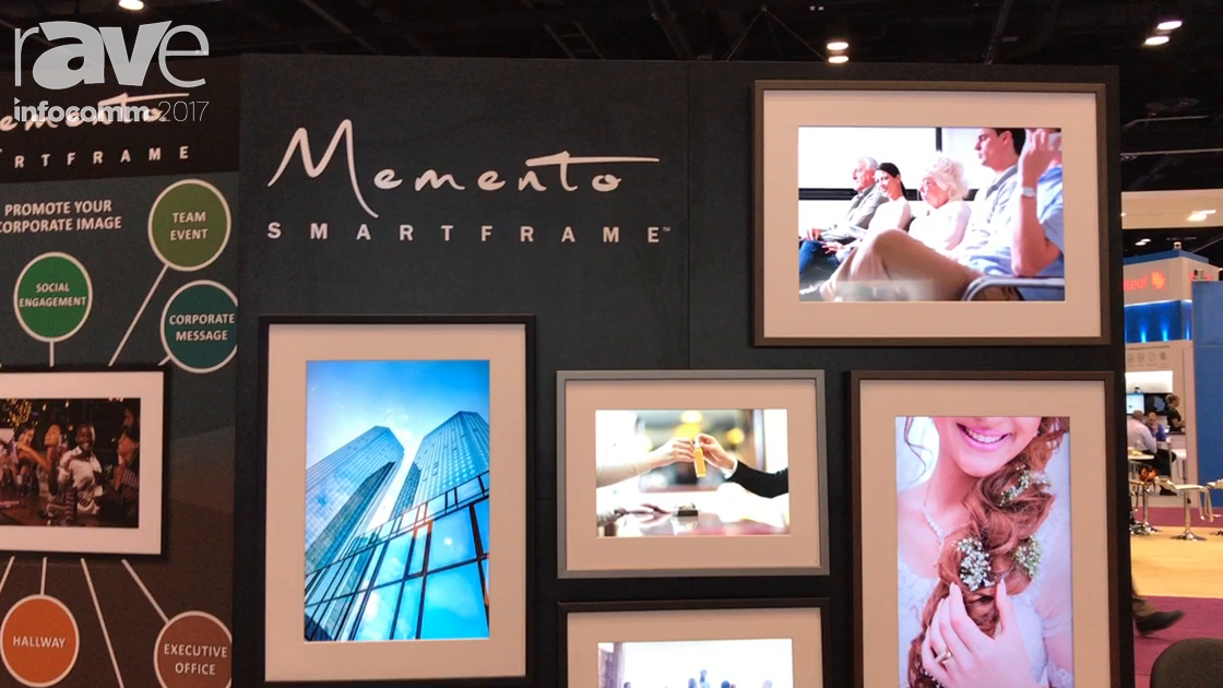 InfoComm 2017: Memento Electronics Introduces 4K Digital Photo Frames