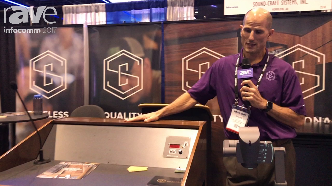 InfoComm 2017: Sound-Craft Systems Features The Presenter Lectern