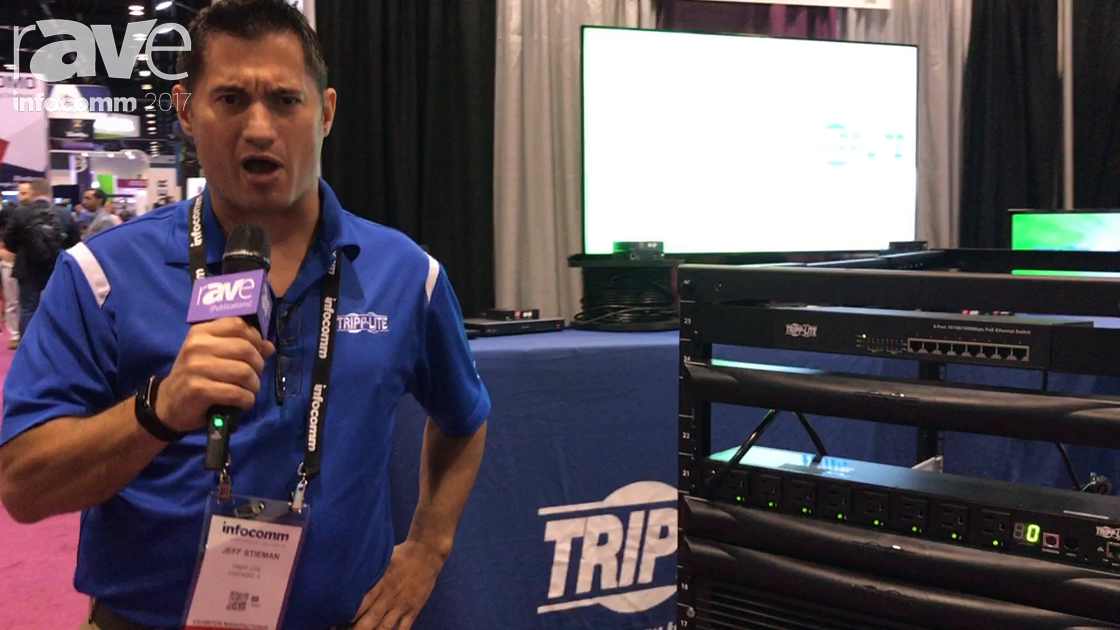 InfoComm 2017: Tripp Lite Features SRCOOL7KRM Unit