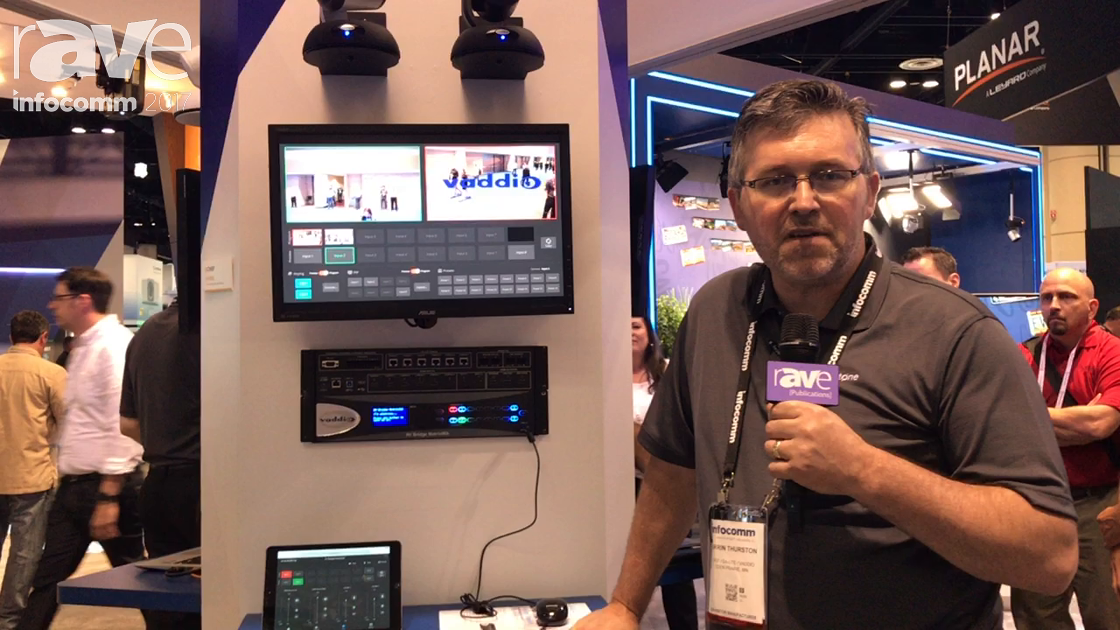 InfoComm 2017: Vaddio Introduces AV Bridge MatrixMIX AV Switcher